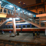Inside Hanoi Railways Station