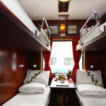 Orient Express train Sapa 4 Berth Cabin